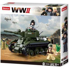 Sluban Sluban WW2 M38-B0686 Sovětský tank BT7