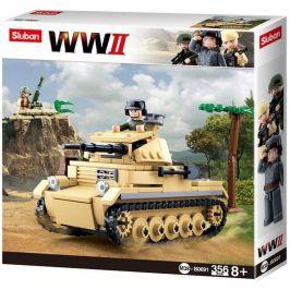 Sluban Sluban WW2 M38-B0691 Německý tank Panzer II