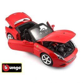 Bburago Bburago 1:18 Ferrari California T open top Red