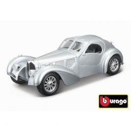 Bburago Bburago 1:24 Bugatti Atlantic stříbrná