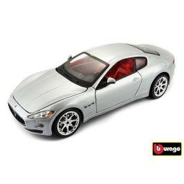 Bburago Bburago 1:24 Maserati GranTurismo (2008) stříbrná 18-22107