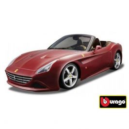 Bburago Bburago 1:24 Ferrari California T open top Metallic červená 18-26011