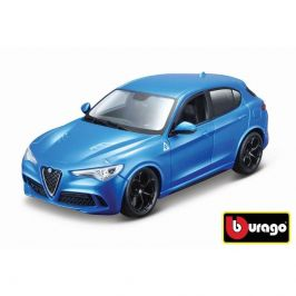 Bburago Bburago 1:24 Alfa Romeo Stelvio modrá 18-21086