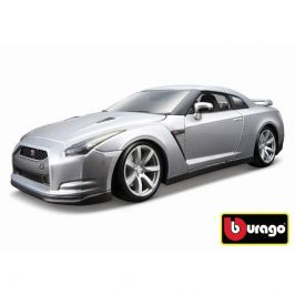Bburago Bburago 1:18 2009 Nissan GT-R Metallic stříbrná 18-12079