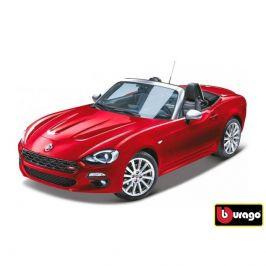Bburago Bburago 1:24 Fiat 124 Spider červená 18-21083