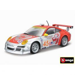 Bburago Bburago 1:24 Race Porsche 911 GT3 RSR stříbrno-červené 18-28002