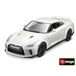 Bburago Bburago 1:24 Nissan GT-R Metallic bílá 18-21082
