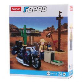 Sluban Sluban Town Motorky M38-B0717F Motorkář na výletě