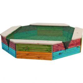 Woody Pískoviště s ochrannou sítí - barevné