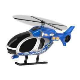 Teamsterz Vrtulník policejní s efekty 30 cm