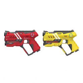 Wiky Wiky Laser hra pro dva 22 cm - žlutá a červená barva