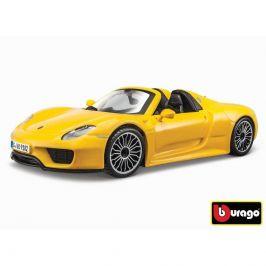 Bburago Bburago 1:24 Porsche 918 Spyder Yellow 18-21076