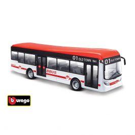 Bburago Bburago City Bus 19 cm, 2 druhy