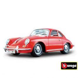Bburago Bburago 1:24 Porsche 356B Coupe (1961) Red