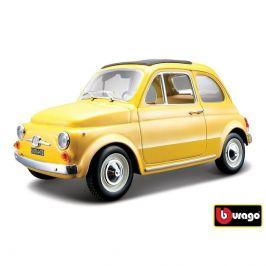 Bburago Bburago 1:24 Fiat 500 F 1965 žlutá 18-22098