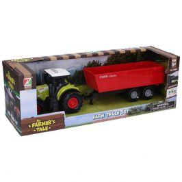 Wiky Vehicles Traktor s vlečkou a efekty 36 cm
