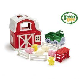 Green Toys Green Toys Farma s domečkem, autíčkem a zvířátky