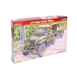 Mister Craft Model vozidla 1/4 Tonn Truck Willys 1:72