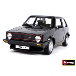 Bburago Bburago 1:24 Volkswagen Golf MK1 GTI černá 18-21089