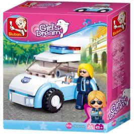 Sluban Sluban Girls Dream Holidays M38-B0600B Policistka s vozem