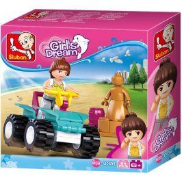 Sluban Sluban Girls Dream Holidays M38-B0599 Plážová čtyřkolka
