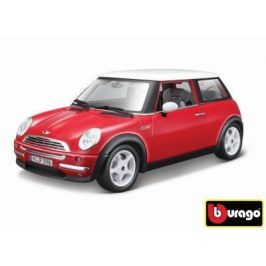 Bburago Bburago 1:18 Mini Cooper (2001) Red