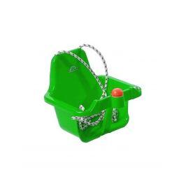 Houpačka s pískátkem - zelená  světlá