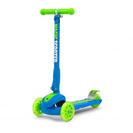 Dětská koloběžka Milly Mally Magic Scooter blue-green