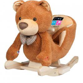 Houpací hračka s melodií PlayTo medvídek hnědá