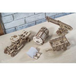 UGEARS Dřevěné 3D mechanické puzzle doplňky (pro UGM-11)