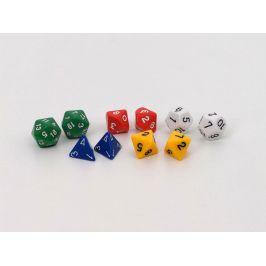EDX Education Polyhedrální kostky (polyhedral dice assortment)