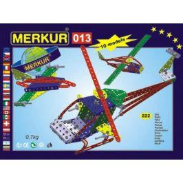 Merkur Toys Stavebnice MERKUR 013 Vrtulník 10 modelů 222ks v krabici 26x18x5cm