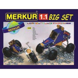 Merkur Toys Stavebnice MERKUR 1.1 10 modelů 240ks v krabici 36x26,5x5,5cm