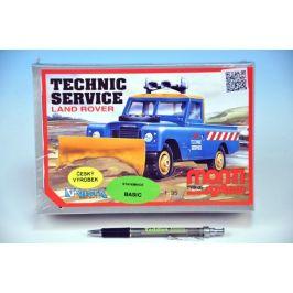 SEVA Stavebnice Monti System MS 01 Technic Service Land rover 1:35 v krabici 22x15x6cm
