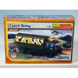 SEVA Stavebnice Monti System MS 11 Czech Army Tatra 815 1:48 v krabici 22x15x6cm