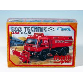 SEVA Stavebnice Monti System MS 47 Eco Technic Liaz 1:48 v krabici 22x15x6cm