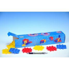 SEVA Stavebnice BLOK 1 plast 36ks v krabici 34x7x7cm