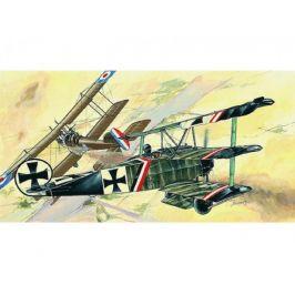 Směr Model Fokker Dr.1 13x16,1cm v krabici 31x13,5x3,5cm