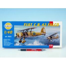 Směr Model Fiat C.R. 42 FALCO 20,9x24,1cm v krabici 31x13,5x3,5cm