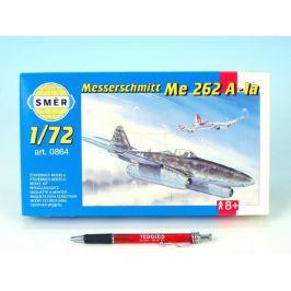 Směr Model Messerschmitt Me 262A 1:72 14,7x17,4cm v krabici 25x14,5x4,5cm