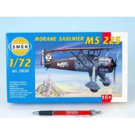 Směr Model Morane Saulnier MS 225 1:72 9,2x15,4cm v krabici 25x14,5x4,5cm