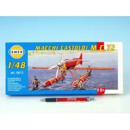 Směr Model Macchi Castoldi M.C.72 1:48 17,5x19cm v krabici 31x13,5x3,5cm