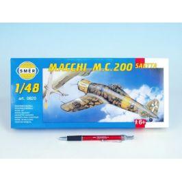 Směr Model Macchi M.C. 200 Saetta 16,1x21,2cm v krabici 31x13,5x3,5cm