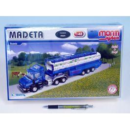 SEVA Stavebnice Monti System MS 72 MADETA Scania 1:48 v krabici 32x20,5x7,5cm