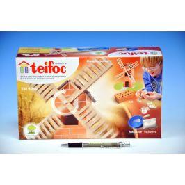 Směr Stavebnice Teifoc Větrný mlýn 100ks v krabici 29x18x8cm