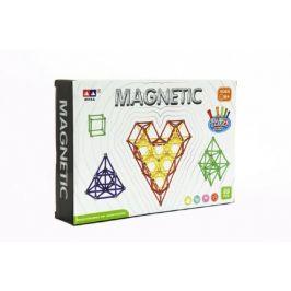 Teddies Magnetická stavebnice 99ks v krabici 28x19x5cm