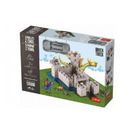 Trefl Stavějte z cihel Pevnost stavebnice Brick Trick v krabici 36x25x7cm