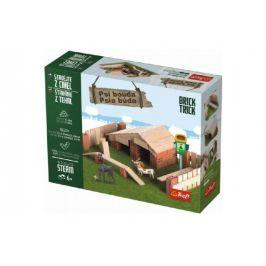 Trefl Stavějte z cihel Psí bouda stavebnice Brick Trick v krabici 28x21x7cm