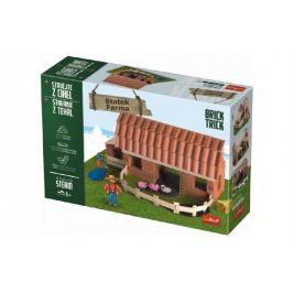 Trefl Stavějte z cihel Statek stavebnice Brick Trick v krabici 40x27x9cm