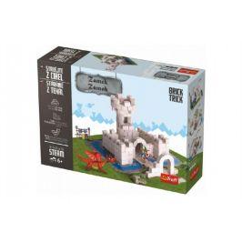 Trefl Stavějte z cihel Zámek stavebnice Brick Trick v krabici 32x23x7cm